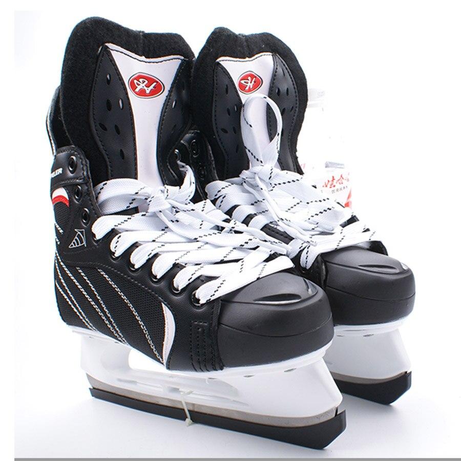 [해외]Japy skate hespeler 아이스 하키 신발 성인 어린이 아이스 스케이트 전문 볼 나이프 아이스 하키 나이프 신발 real ice patines/Japy skate hespeler 아이스 하키 신발 성인 어린이 아이스 스케이트 전문 볼