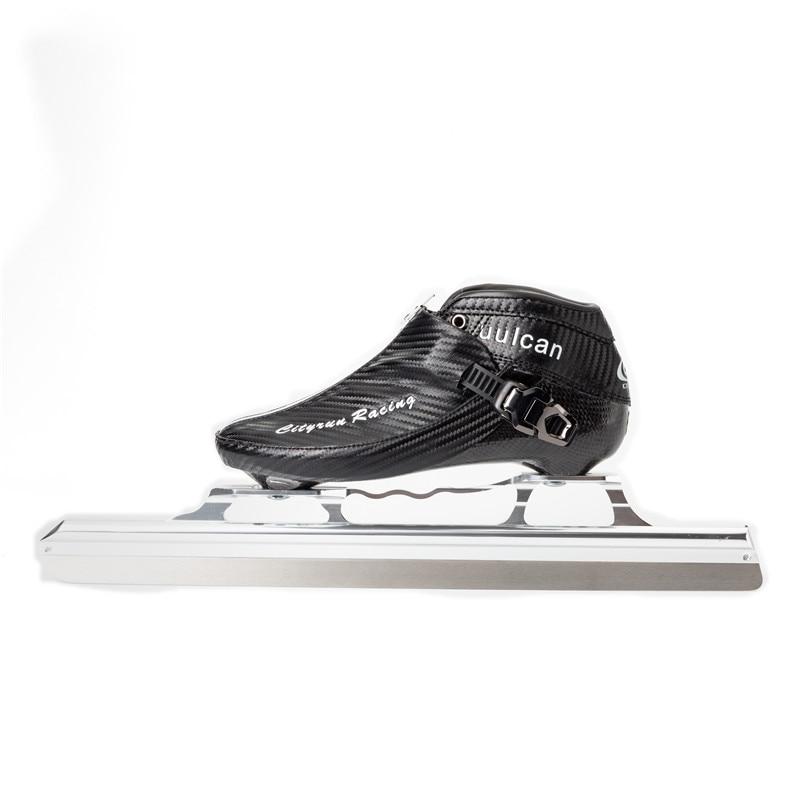 [해외]필드 트랙 아이스 스케이트 2019 cityrun vulcan 탄소 섬유 고정 380mm 410mm 430mm 아이스 블레이드 우편 섬유 부팅 슈퍼 라이트 soinc ct/필드 트랙 아이스 스케이트 2019 cityrun vulcan 탄소 섬유