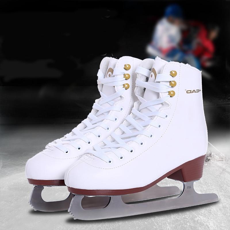 [해외]여자 아이 2020 겨울 성인 전문 열 양털 따뜻한 짙은 얼음 그림 스케이트 신발 얼음 블레이드 PU 방수/여자 아이 2020 겨울 성인 전문 열 양털 따뜻한 짙은 얼음 그림 스케이트 신발 얼음 블레이드 PU 방수