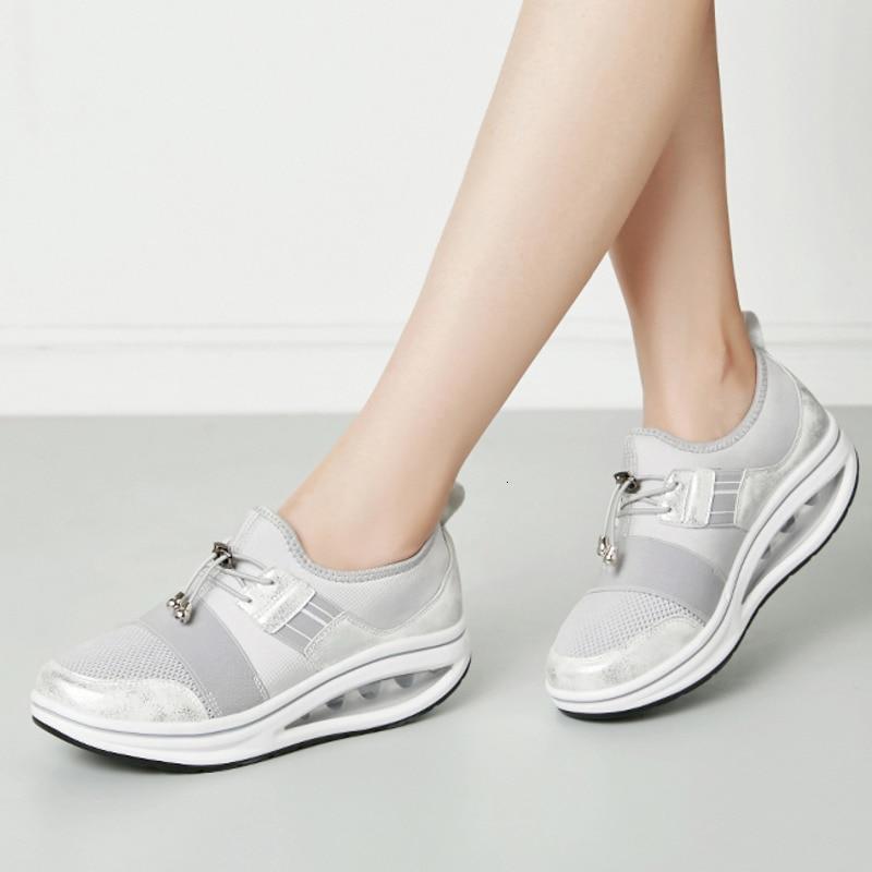 [해외]여성 스윙 신발 두꺼운 유일한 신발 패션 웨지 스니커즈 여성 야외 토닝 운동화 높이 증가 플랫폼 신발 캐주얼/여성 스윙 신발 두꺼운 유일한 신발 패션 웨지 스니커즈 여성 야외 토닝 운동화 높이 증가 플랫폼 신발 캐주얼