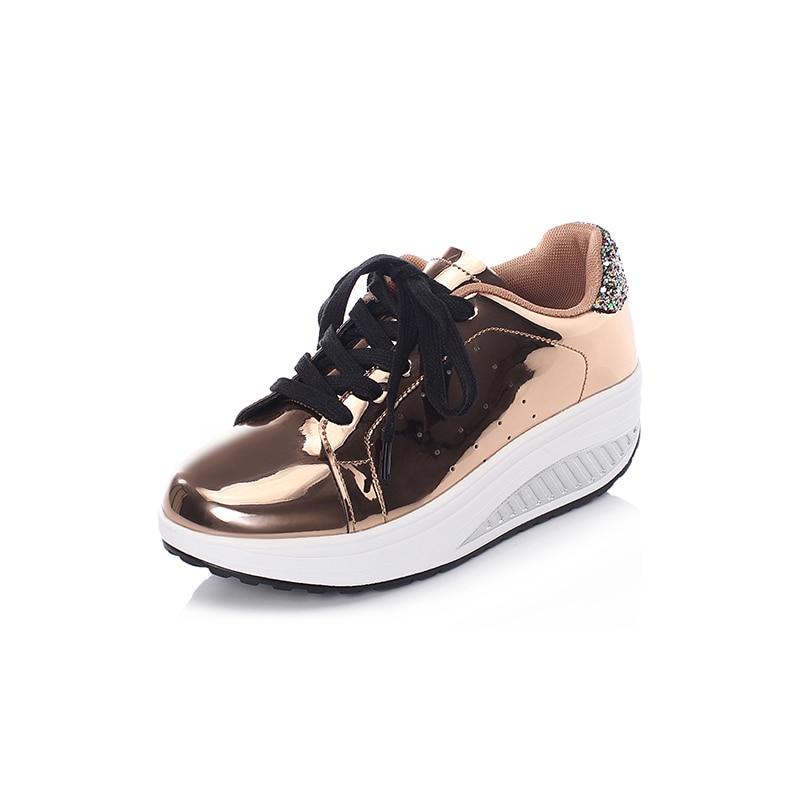 [해외]여성 슬리밍 신발 여성 통기성 레이스 스 니 커 즈 2019 새로운 패션 웨지 높이 증가 여성 토닝 스윙 신발/여성 슬리밍 신발 여성 통기성 레이스 스 니 커 즈 2019 새로운 패션 웨지 높이 증가 여성 토닝 스윙 신발