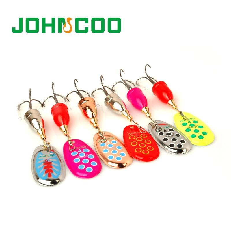 [해외]Spinner Bait Metal Lure 2pcs/Lot Fishing Lure for Spoon Spinner lure 5g/8g/10g/13g Color Artificial Fish Bass Fishing Tackle/Spinner Bai