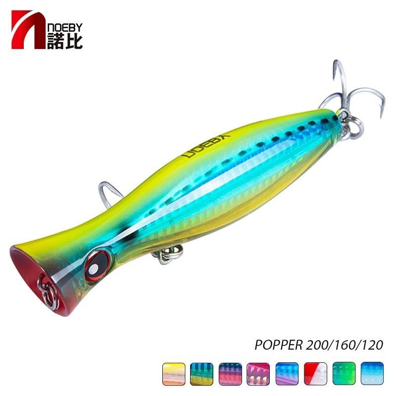 [해외]NOEBY Popper sea Fishing Lure tuna lure 120mm/160mm Topwater Hard Bait Iscas Artificiais Leurre De Peche Wobbler/NOEBY Popper sea Fishin