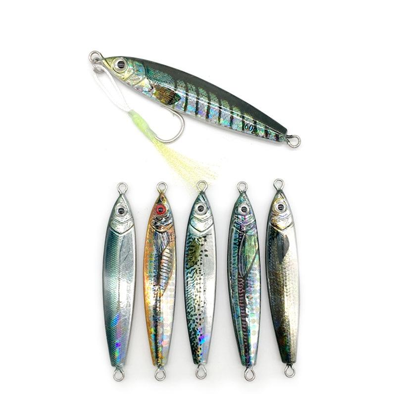 [해외]New DRAGER Metal Cast Jig Spoon20G 35G 60G Shore Casting Jigging Lead Fish Sea Bass Fishing Lure  Artificial Bait Tackle/New DRAGER Meta