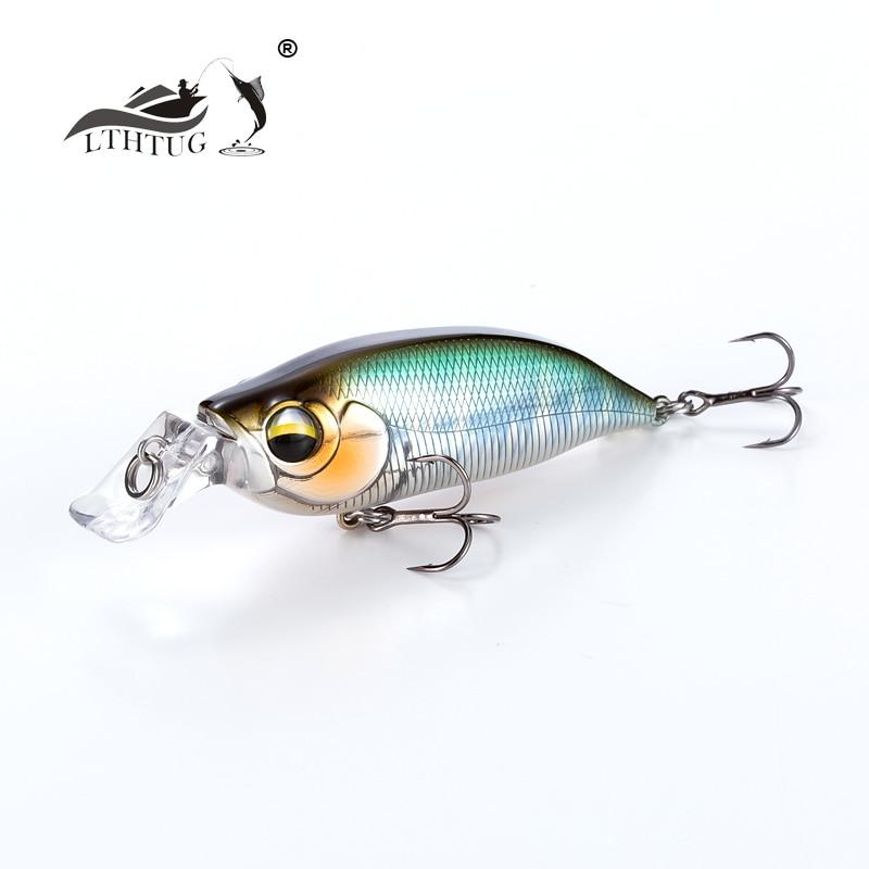 [해외]2019 New Arrival LTHTUG Artificial Bait Pesca Wobbler High Quality Fishing Lure Japanese Design Minnow 8g 57mm Floating Jerkbait For Bas