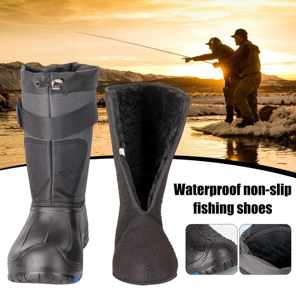 [해외]방수 비 슬립 낚시 신발 가을과 겨울 봄 따뜻한 낚시 신발 얼음 낚시 바다 낚시 부츠/방수 비 슬립 낚시 신발 가을과 겨울 봄 따뜻한 낚시 신발 얼음 낚시 바다 낚시 부츠
