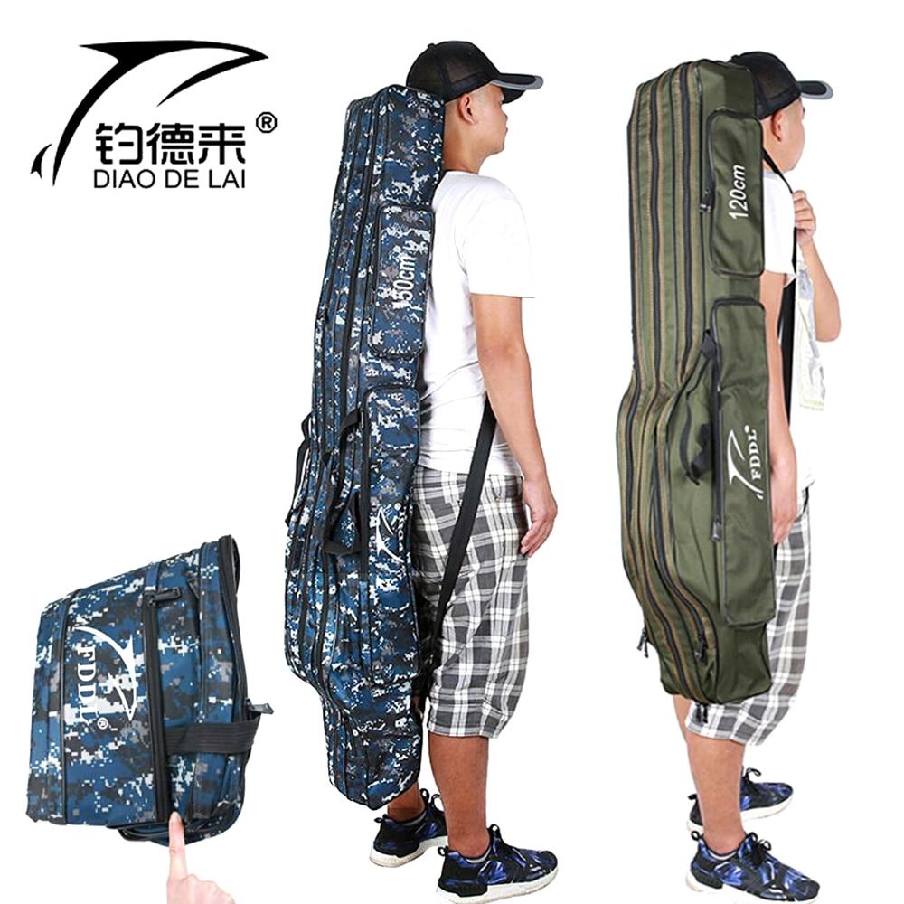 [해외]Fddl 낚싯대 가방 캐리어 낚시 릴 장 대 저장 가방 110 cm/120 cm/130 cm/150 cm/Fddl 낚싯대 가방 캐리어 낚시 릴 장 대 저장 가방 110 cm/120 cm/130 cm/150 cm