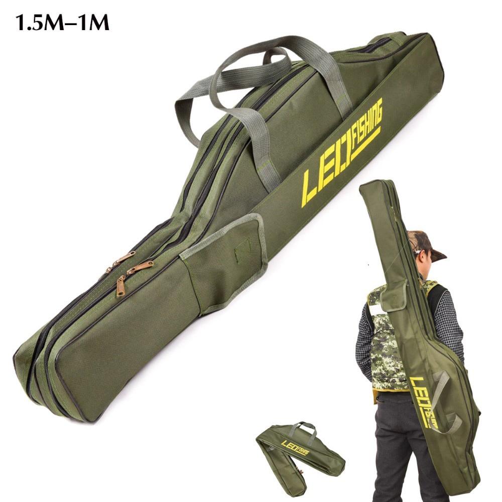 [해외]휴대용 foldable 낚싯대 캐리어 물고기 극 도구 스토리지 가방 케이스/휴대용 foldable 낚싯대 캐리어 물고기 극 도구 스토리지 가방 케이스