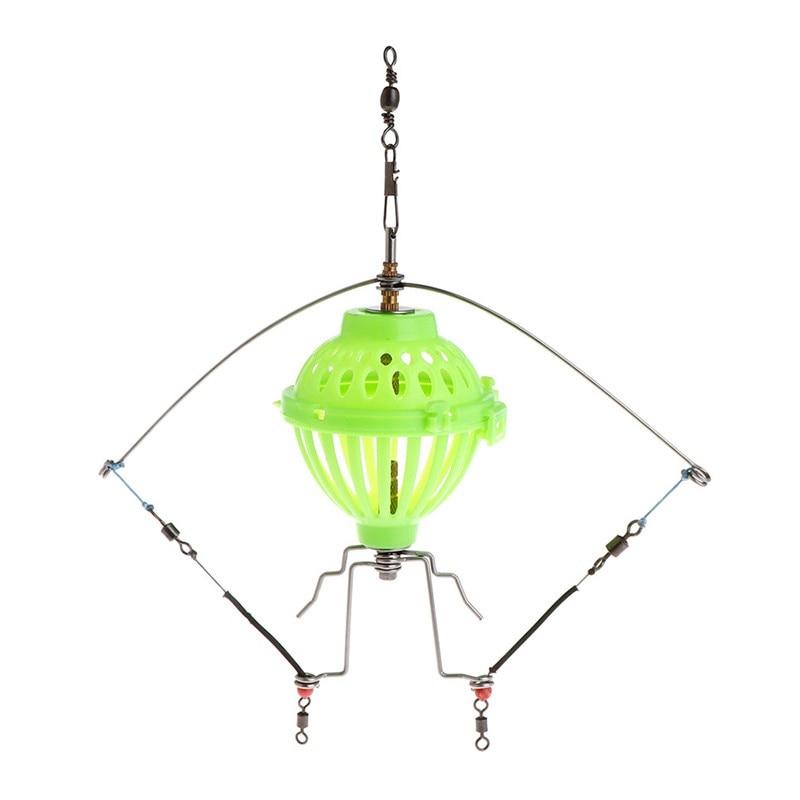 [해외]Fishing Feeder Automatic Tackle Multi Functional Launcher Trap Spring Cage Hook/Fishing Feeder Automatic Tackle Multi Functional Launcher Trap Spr