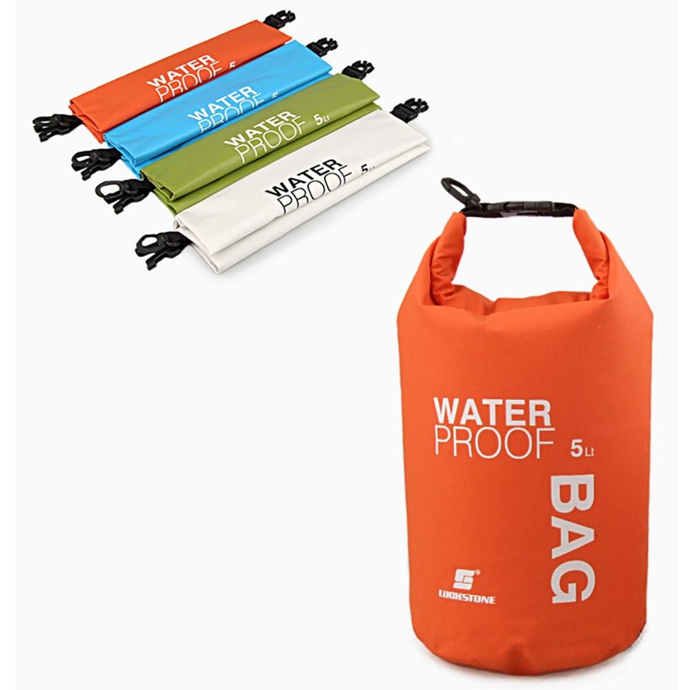 [해외]Camping hiking PVC waterbag waterproof bag Camping Dry Bags Outdoor Traveling Ultralight Rafting Bag waterproof box 5L/Camping hiking PVC waterbag