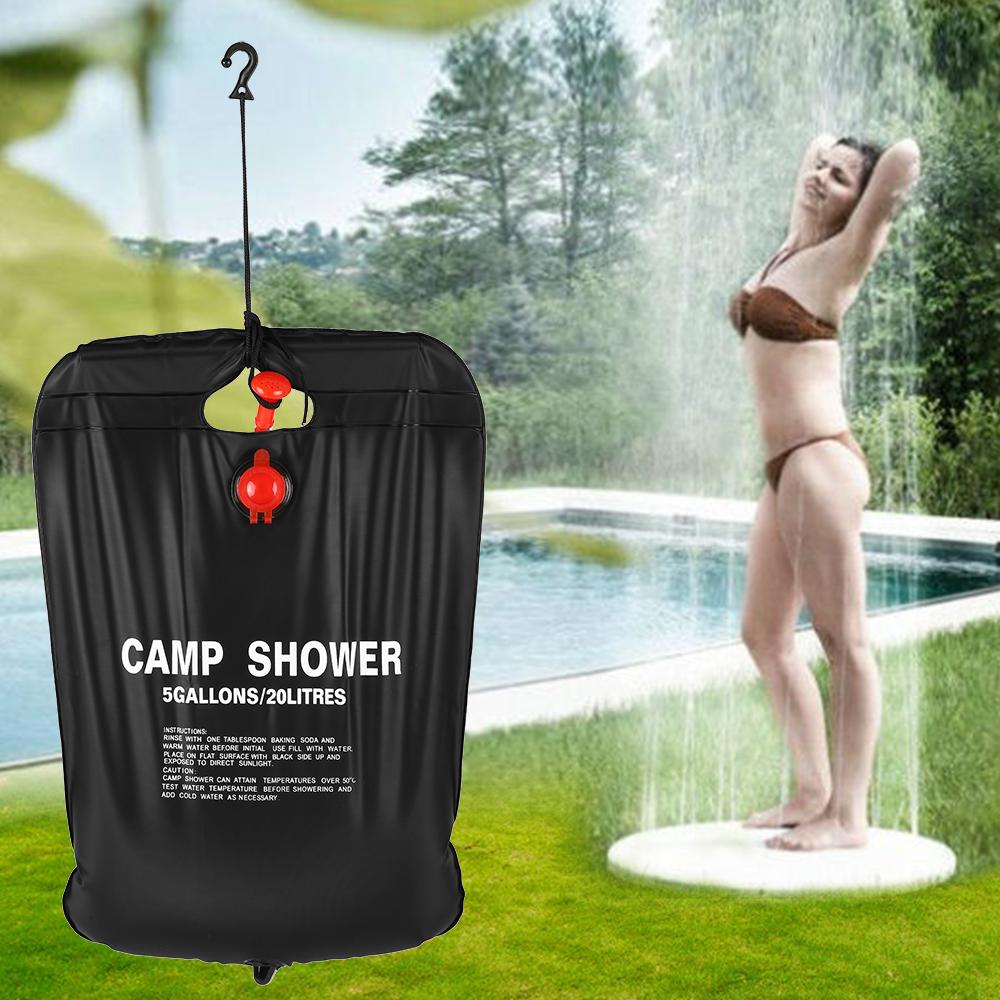 [해외]20l/5 갤런 태양 에너지 온수 캠프 샤워 가방 야외 캠핑 하이킹 pvc 물 가방/20l/5 갤런 태양 에너지 온수 캠프 샤워 가방 야외 캠핑 하이킹 pvc 물 가방