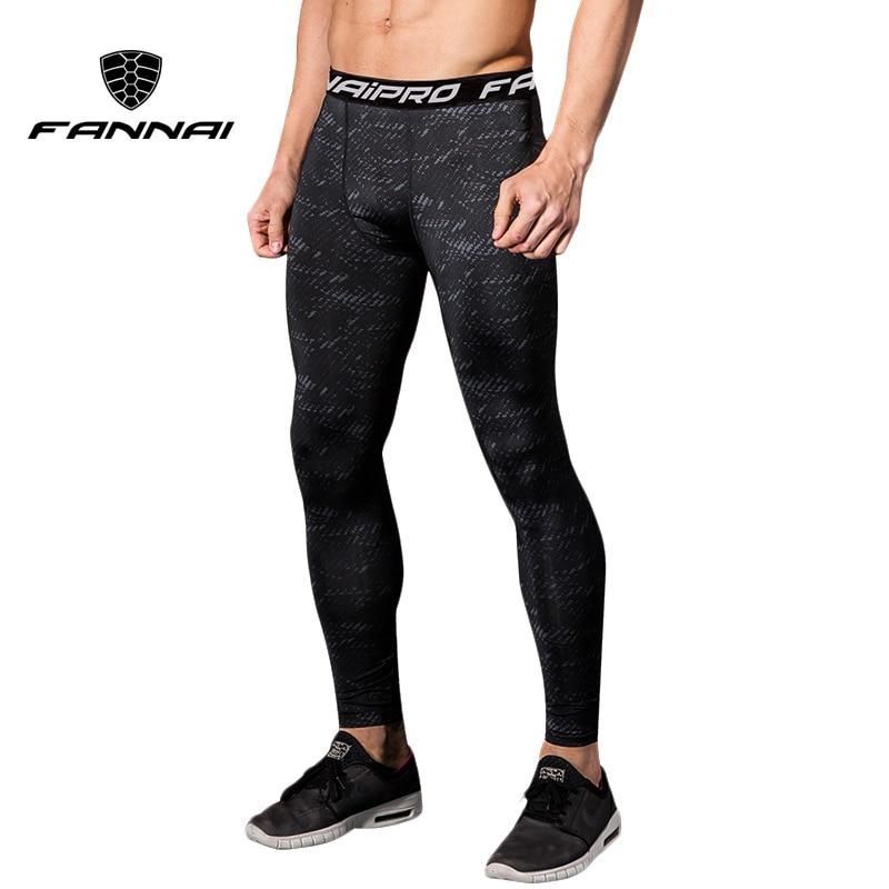 [해외]FANNAI Men Legging Running Sport leggings Gym Fitness Compression mens pant Training Yoga Tight Pants Jogging Exercise Trousers /FANNAI Men Leggin