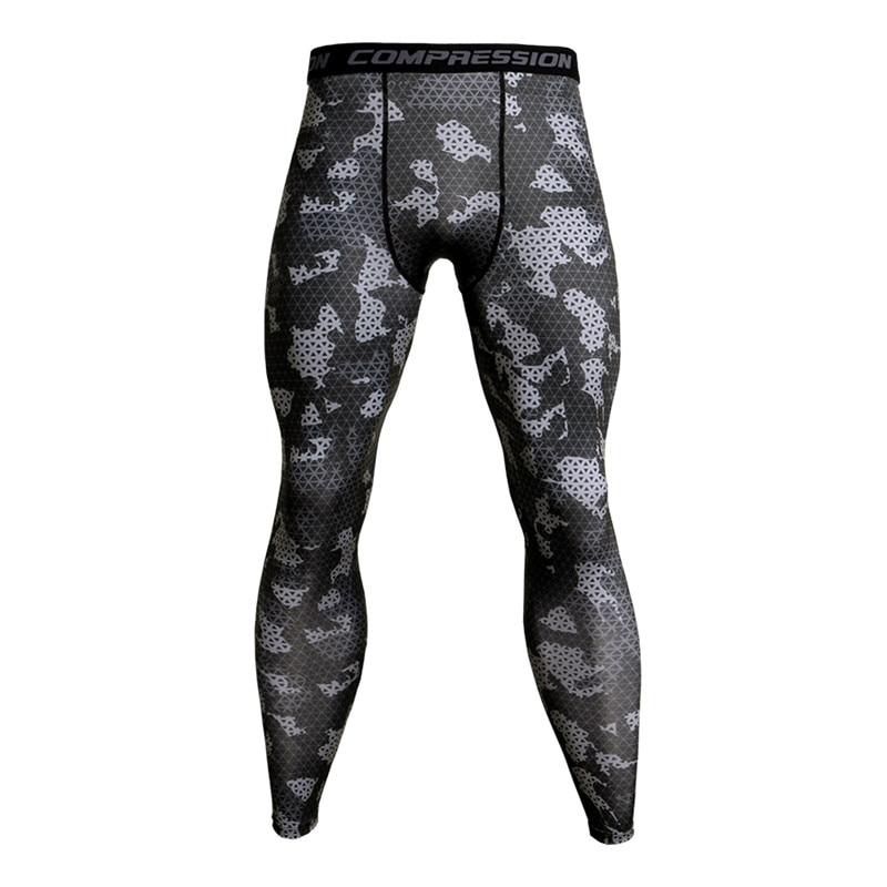 [해외]Camouflage Compression Pants Running Tights Men Soccer Training Pants Fitness Sport Leggings Men Gym Jogging Trousers Sportswear/Camouflage Compre