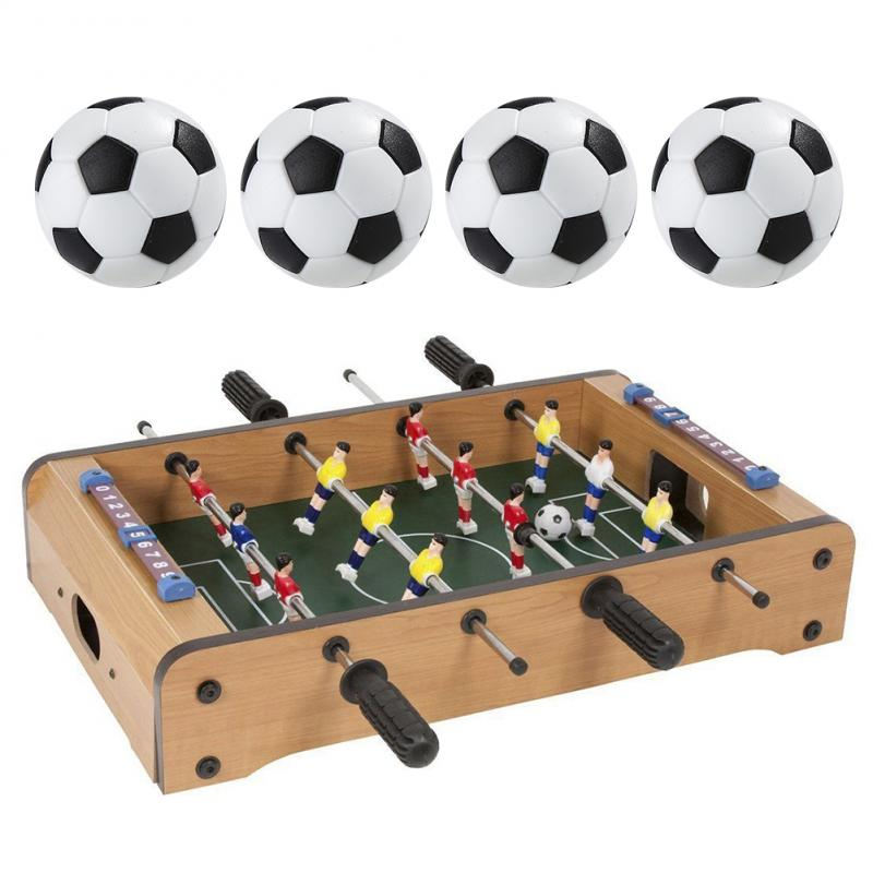 [해외]4 pcs 32mm 축구 fussball soccerball 스포츠 선물 라운드 실내 게임 foosball 테이블 축구 플라스틱 축구 공 새로운/4 pcs 32mm 축구 fussball soccerball 스포츠 선물 라운드 실내 게임 foos