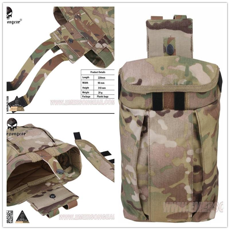 [해외]Emerson bullet clip recycling grocery bag USA Webbing  Tactical outdoor utility bag pouch Molle Small Magazine Party Drop Pouch /Emerson bullet cl
