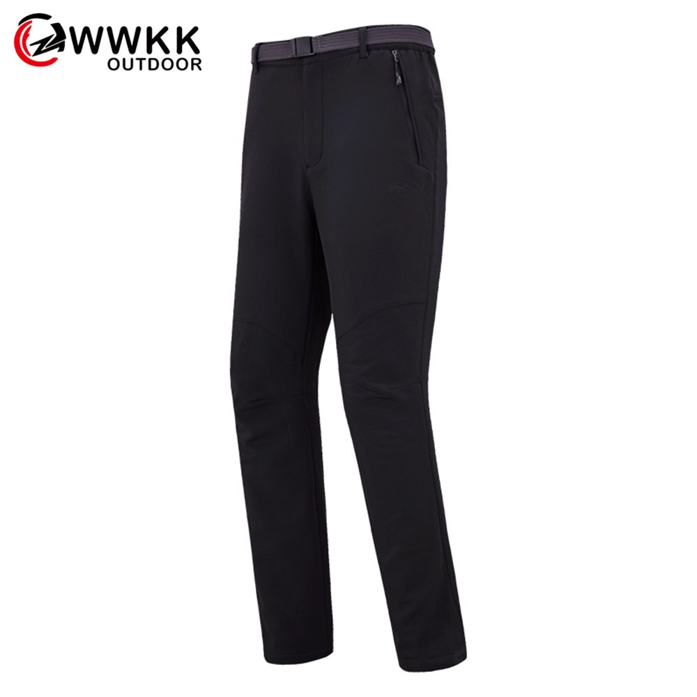 WWKK Male Elastic Pants Women Outdoor Hiking Camping Fishing Ultralight New9 Colors Waterproof Pant Quick Dry Softshell Trousers
